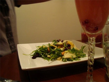 Fennel, Orange, and Arugula Salad with Grapefruit Vinaigrette