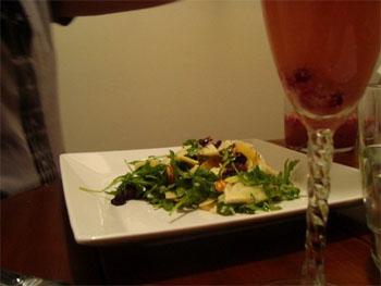 Fennel, Orange, and Arugula Salad with Grapefruit Vinaigrette
